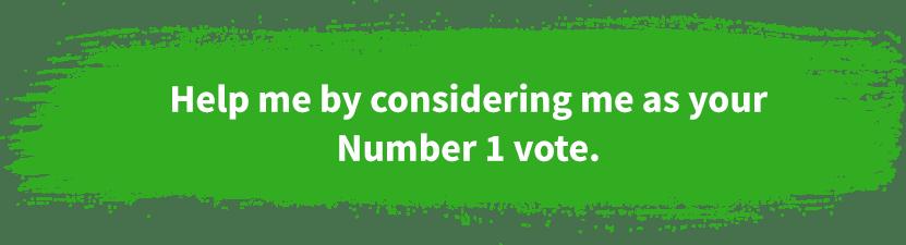 Vote Number 1